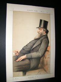 Vanity Fair Print 1871 G. W. Hunt, Chancellor